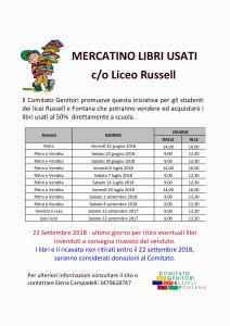 Locandina Mercatino 2018